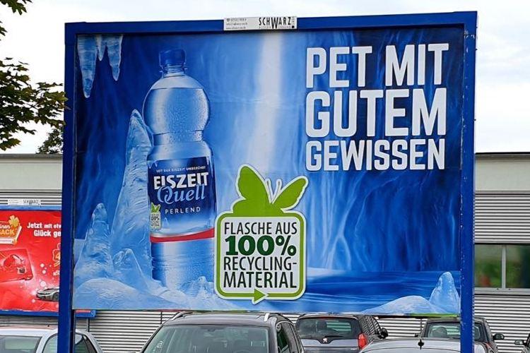 PET Kampagne Romina Mineralbrunnen 2019 2020 Kopie