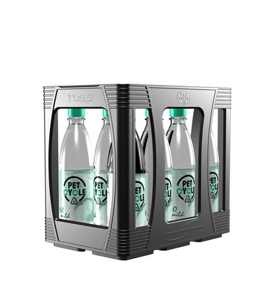 Petcycle Poolkasten für Mineralwasser und Erfrischungsgetränke 11 x 0,5 Liter