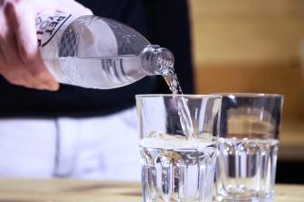 Mineralwasser Petcycle Flasche