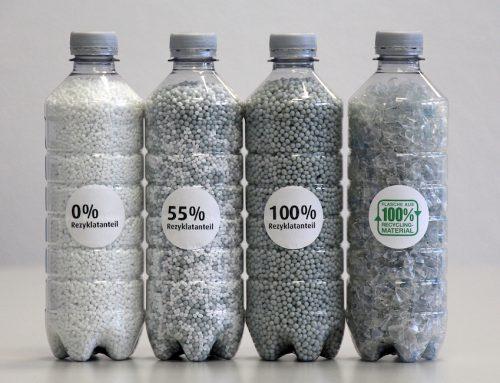 Recycling von Petcycle-Flaschen weiter auf höchstem Niveau