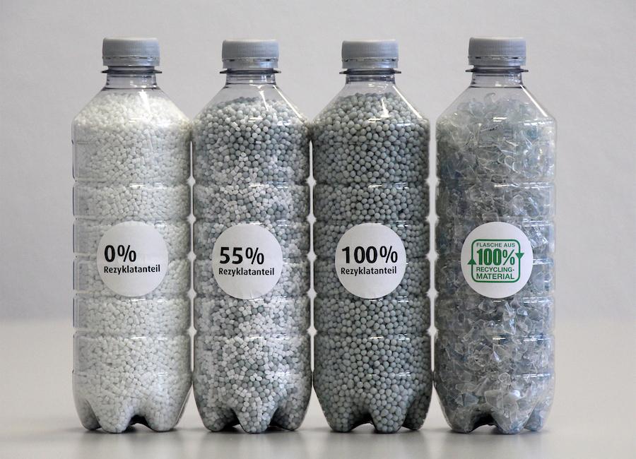 Bad Duerrheimer–Pionier PET Flasche Aus 100 Prozent Recycling Rezyklat 02