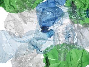 Alpla Crushed PET-Bottles